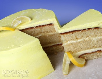 Luxurious Lemon Drizzle Cake